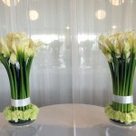 calli lilly centerpiece